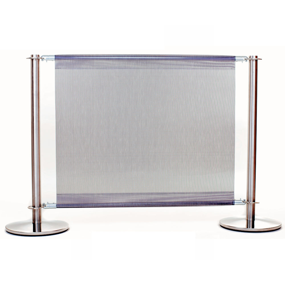 PVC Mesh Cafe Barriers