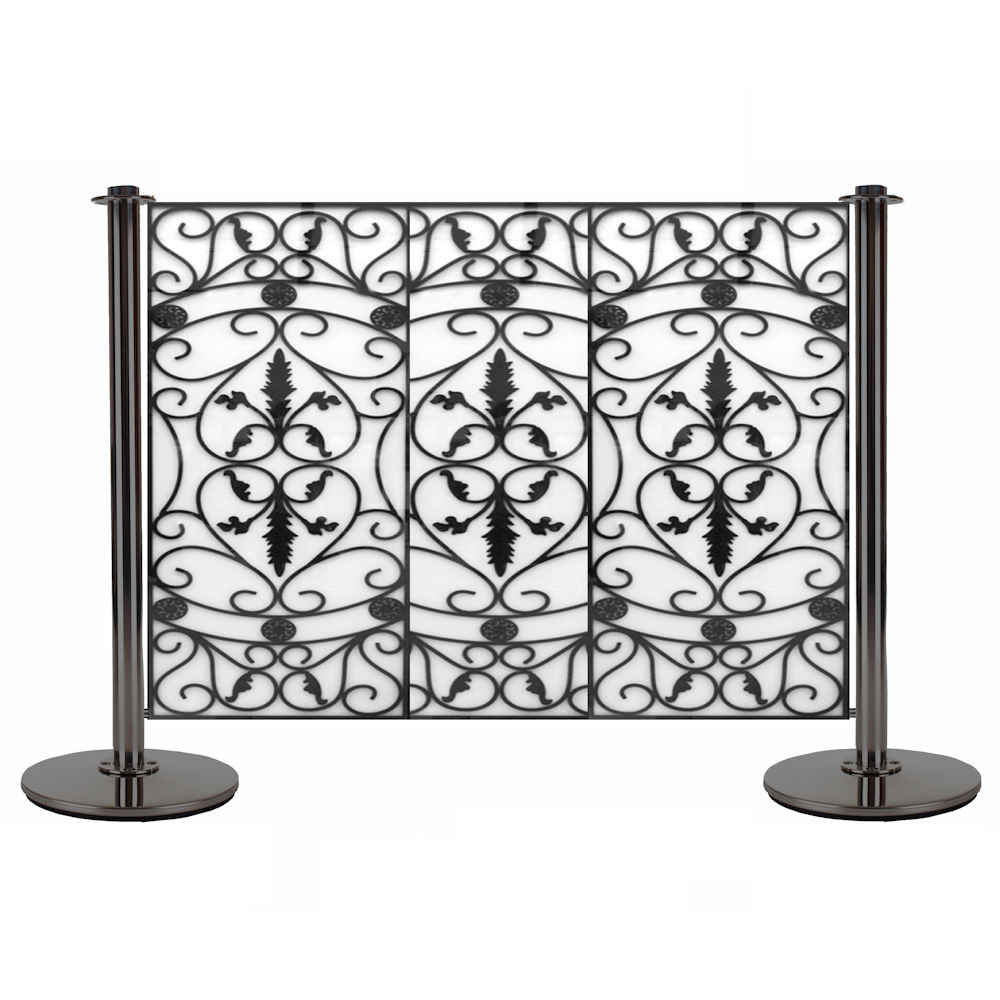 Wrought Iron Cafe Banner