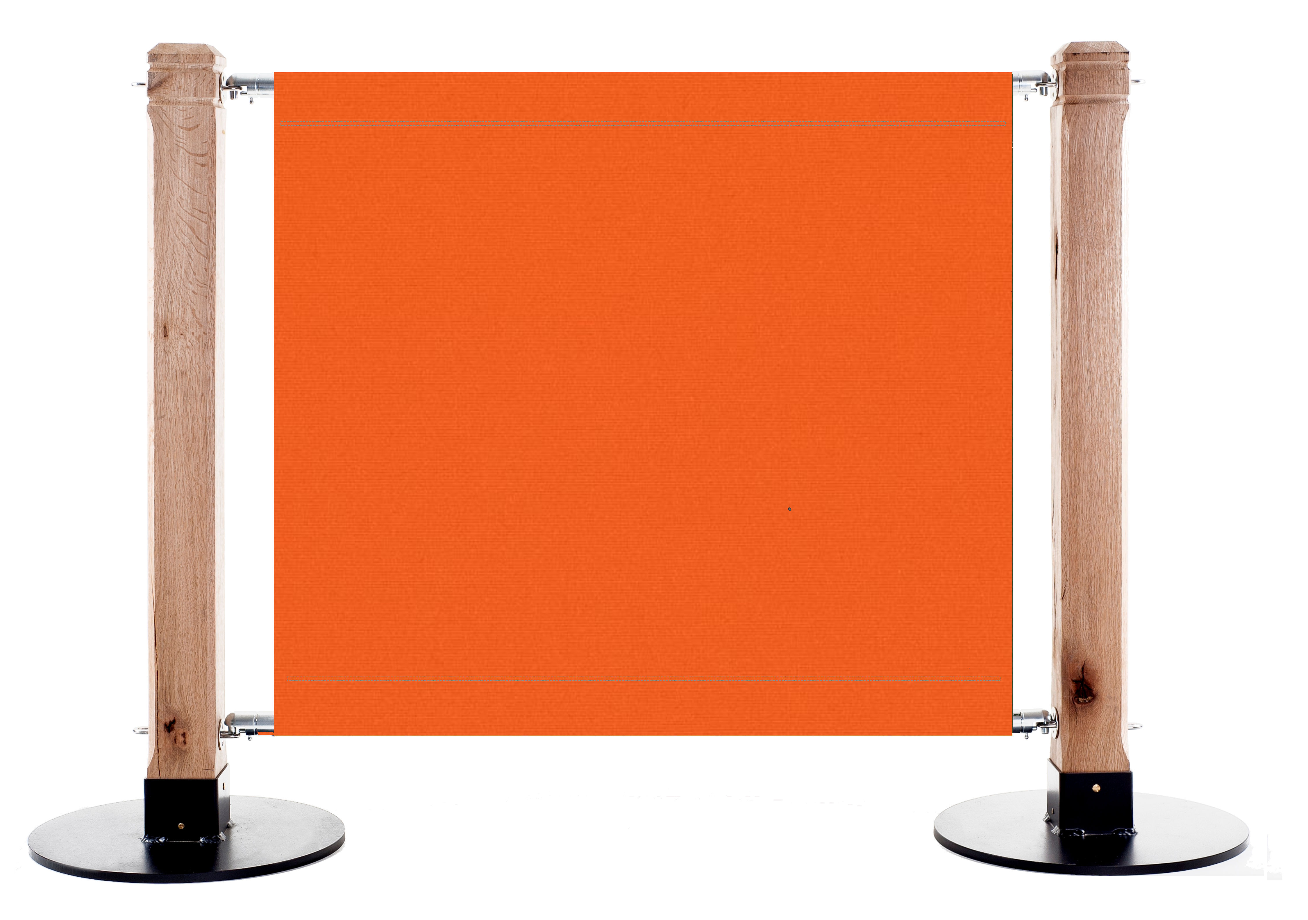Canvas Cafe Barrier in 0018 Orange