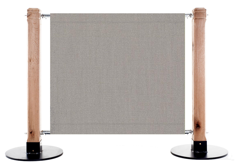 Canvas Cafe Barrier in 6088 Gris - Grey