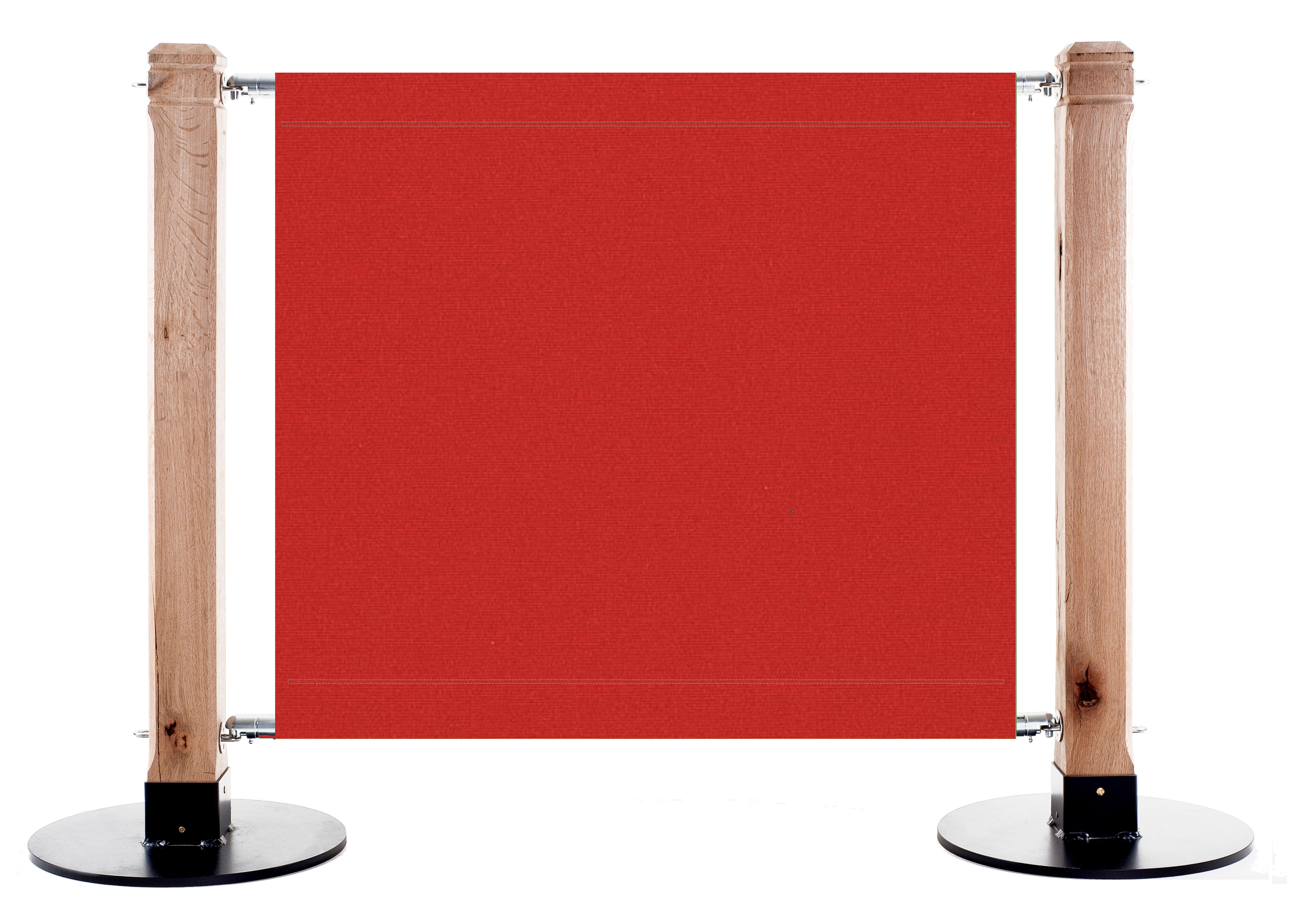 Canvas Cafe Barrier in FR14 - Red